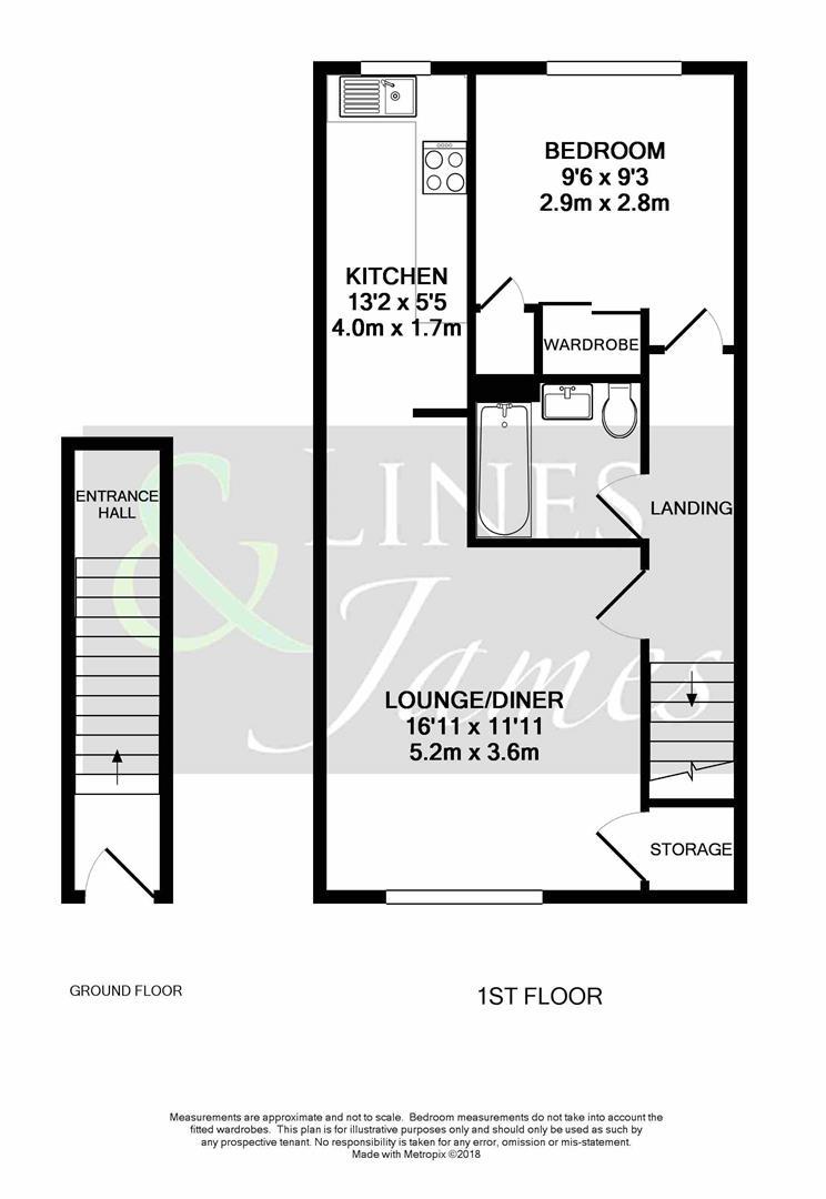 Floorplan for Sycamore Avenue, Horsham